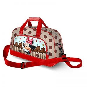 Karactermania Minnie Mouse Muffin-Pocket Sports Bag Sac de Sport Enfant, 45 cm, Marron (Brown) de la marque KARACTERMANIA image 0 produit